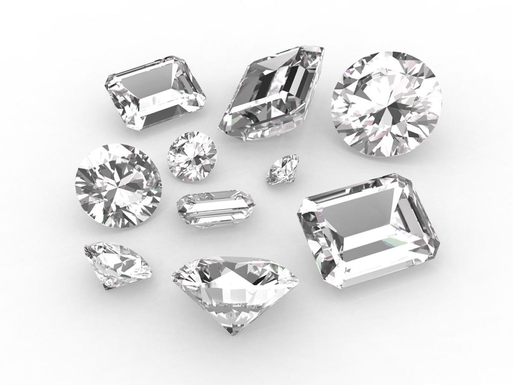 Ins and Outs of Diamonds Shapes. The Diamond Club